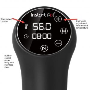 Instant Pot Sous Vide SSV800 Display