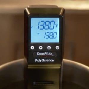 PolyScience Sous Vide SVC-AC1B Display