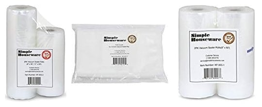 Simple Houseware Vacuum Sealer Bags Reviews