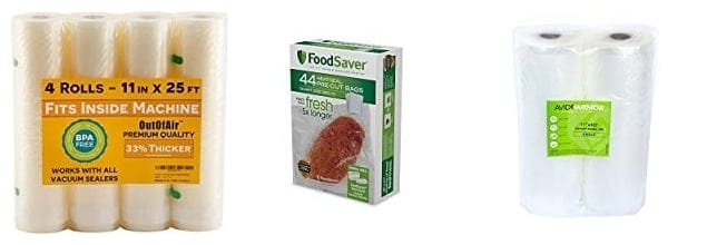 Top Rated Vacuum Sealer Bag Reviews