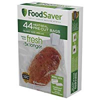 FoodSaver Precut Vacuum Sealer Bags, 1 Pint (28 Count)