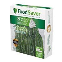"FoodSaver 8""x20ft Vacuum Sealer Bag Roll (3 Rolls)"