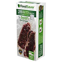 FoodSaver Precut Vacuum Sealer Bags, 1 Gallon (28 Count)