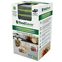 FoodSaver Vacuum Sealed Container Set, 4-Piece Set