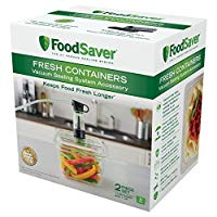 FoodSaver Vacuum Sealed Fresh Container, 5 Cup